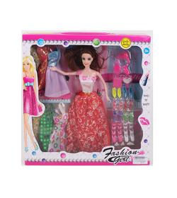 Кукла с нарядом YQ 1224-1 в коробке