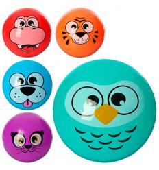 Мяч детский MS 0469-1 Животные, 9 дюймов