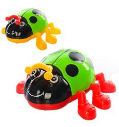Заводная игрушка 618-8 Божья коровка, в кульке