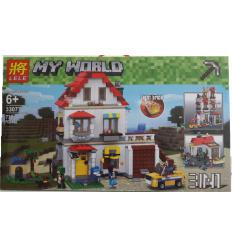Конструктор 33077 Minecraft