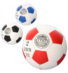 Мяч футбольный 2500-20AB-MINI 3 цвета,в кульке