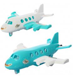Самолет 890-8-10 на запуске, 2 цвета, в кульке