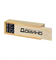 Домино M 0027 в деревянной коробке
