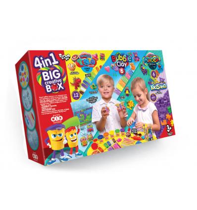 """Тесто для лепки BCRB-01-01 """"4 в 1 Big Creative Box"""", в коробке"""