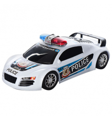 Машинка 5899 Полиция, инерционная, в кульке