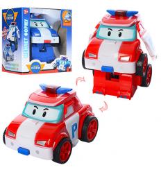 Трансформер DT-558 RP, робот+машинка, в коробке