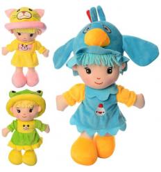 Кукла 17239-40-41 мягконабивная, в кульке