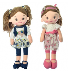 Кукла X 13090 мягконабивная, в кульке