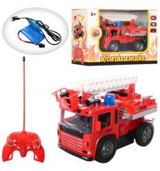 Пожарная машина 128 A-12 р/у, в коробке