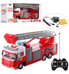 Пожарная машина 666-117 A р/у, в коробке