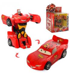 """Трансформер W 6699-51 AB Машинка + робот, """"ТЧ"""", в коробке"""