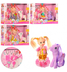 Кукла 600-119 лошадка, в коробке