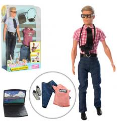 Кукла с нарядом DEFA 8385 Кен, в слюде