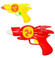 Пистолет 0055 на батарейках, в кульке