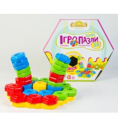 """Развивающая игрушка 39315 """"Тигрес"""", """"Игропазлы SUPER"""" 39 эл"""