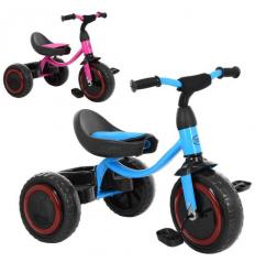 Велосипед M 3649-M-2 TURBOTRIKE, трехколесный, малиновый, голубой