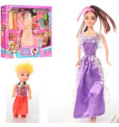 Кукла с нарядом 6908 A5 в коробке