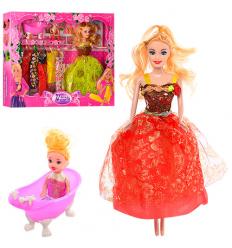 Кукла с нарядом 8144 E2 в коробке