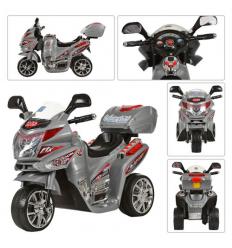 Мотоцикл M 0567 BAMBI, серый