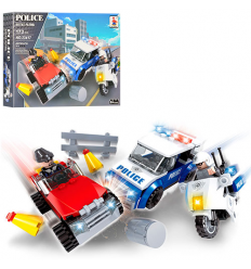 Конструктор AUSINI 23417 Полиция, транспорт, в коробке