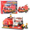 Конструктор SLUBAN 620030 / M 38 B 0220 Пожарные спасатели, в коробке