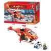 Конструктор SLUBAN M 38 B 0218 Пожарные спасатели, в коробке