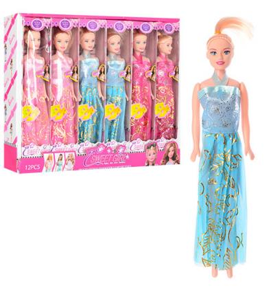 Кукла 9208 B (1уп/12шт) в дисплее