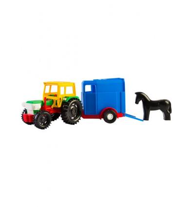 Трактор 39215 с прицепом