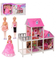 Домик 66883 для куклы, в коробке