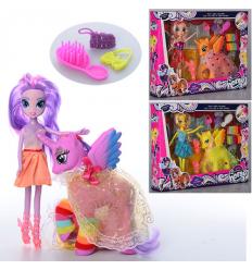 Кукла SM 1015 LP, лошадка с крыльями, в коробке