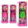 Кукла DEFA 8226 (48шт) расческа, 3 цвета, в кор-ке, 32,5-11-5,5см