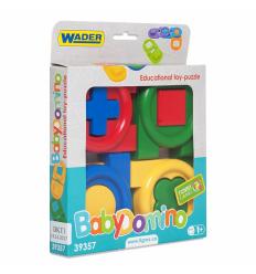 """Развивающая игрушка 39357 """"Тигрес"""", игрушка-пазл """"Детское домино"""", в коробке"""