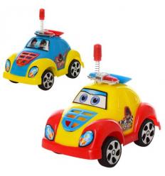 Машинка 2210 инерционная, полиция, в кульке
