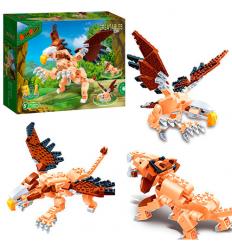 Конструктор BANBAO 6853 Динозавр, в коробке