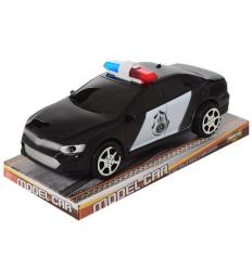 Машинка 1990-3B Полиция, инерционная, в слюде