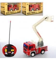 Пожарная машина WY 1550 ABC р/у, на батарейках, в коробке
