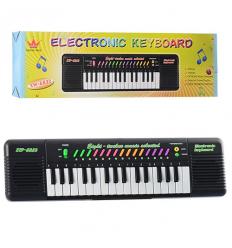Синтезатор 6832-S (48шт) 32 клавиши, музыка, на батарейке, в коробкеке, 44-12,5-4см