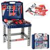 Набор инструментов 008-21 (12шт) чемодан-стол, молоток, штангенциркуль, гаечн