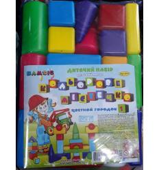 """Цветной городок № 1 5604 """"BAMSIK"""", в сумке"""