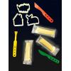 Пластилин MK 0139 (96шт) 1цвет,3шт(в стиках),свет