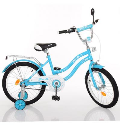 Велосипед детский PROF1 14д. L1494 (1шт/ящ) Star, голубой