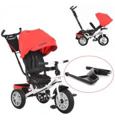 Велосипед M 3646 A-3 (1шт/ящ) TURBOTRIKE, Темно-красный