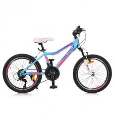 Велосипед 20 д. G20CARE A20.2 (1шт/ящ) PROF1, Голубой
