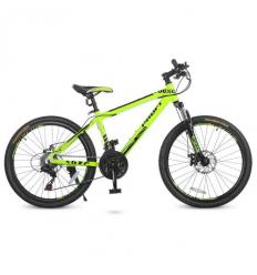 Велосипед 24 Д. G24YOUNG A24.1 (1шт/ящ) PROFI, Салатовый