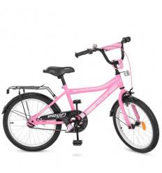 Велосипед детский PROF1 20д. Y 20106 (1 шт/ящ) Top Grade, розовый
