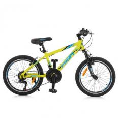 Велосипед 20 д. G20PLAIN A20.1 (1шт/ящ) PROF1, Салатовый
