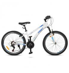 Велосипед 24 д. G24VEGA A24.1 (1шт/ящ) PROF1, Белый