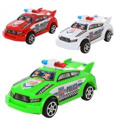 Машинка 66911 инерционная, полиция, в кульке