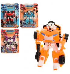 Трансформер 5811-13 TBT, робот+машинка, на листе