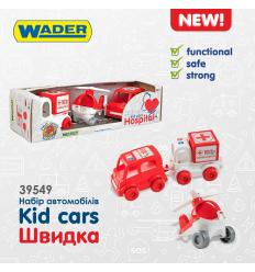 "Набор авто 39549 ""Kid cars"", быстрая, ""Тигрес"""